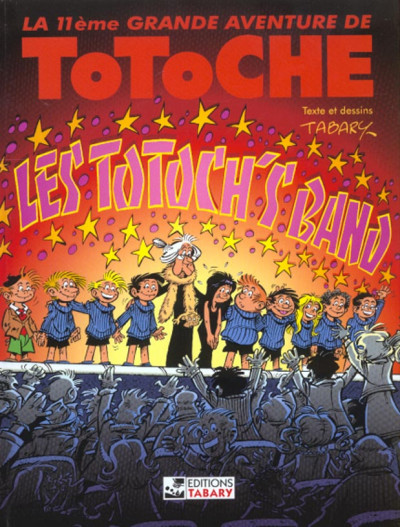 Couverture Totoche tome 11 - Les totoch's band