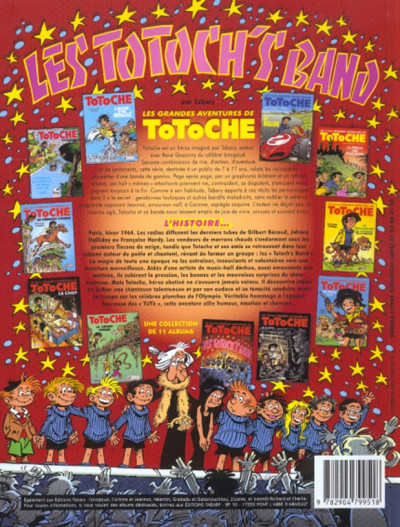 Dos Totoche tome 11 - Les totoch's band