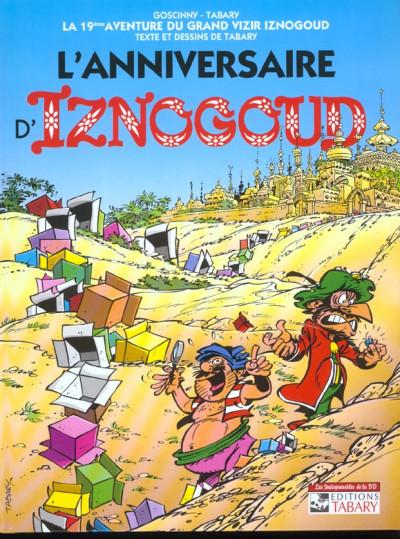 Couverture iznogoud tome 19 - l'anniversaire d'iznogoud