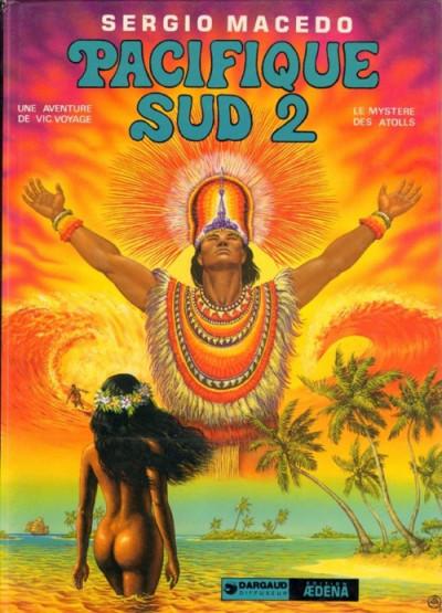 Couverture Une aventure de Vic Voyage tome 4 - Pacifique Sud 2