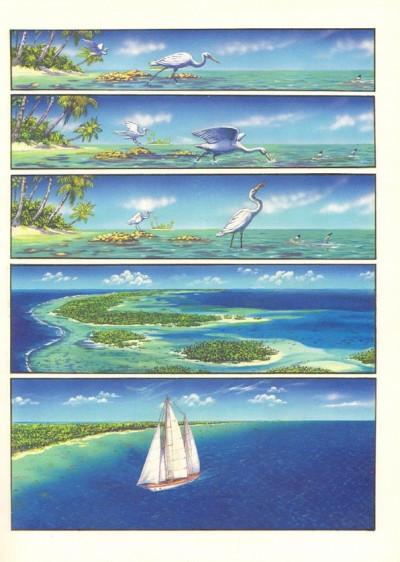 Page 1 Une aventure de Vic Voyage tome 4 - Pacifique Sud 2
