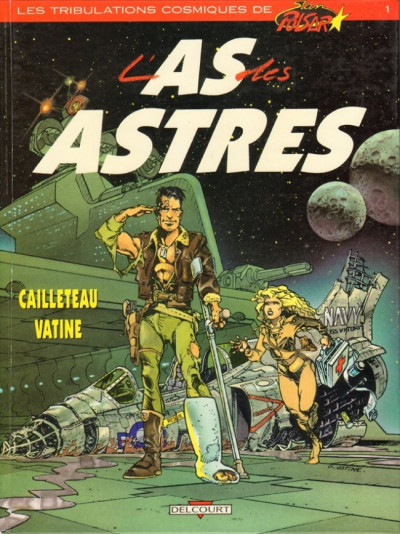 Couverture Stan Pulsar - l'as des astres