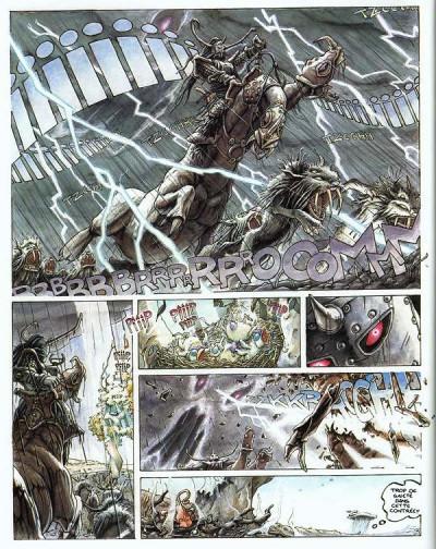 Page 1 Légendes des contrées oubliées tome 1 - la saison des cendres