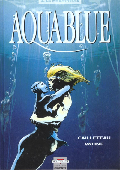 Couverture aquablue tome 3 - le megophias