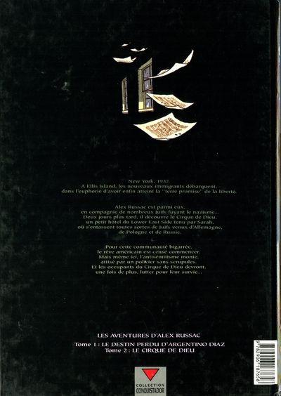 Dos Alex Russac tome 2 - cirque de dieu
