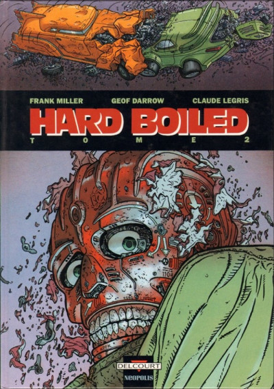 Couverture Hard boiled tome 2