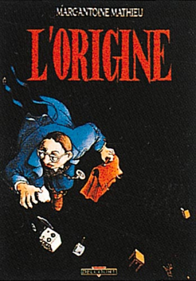 Couverture Julius Corentin Acquefacques tome 1 - l'origine