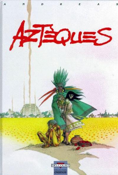 Couverture aztèques tome 1