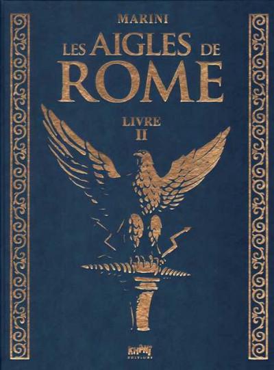 Couverture Tirage de tête les aigles de rome tome 2