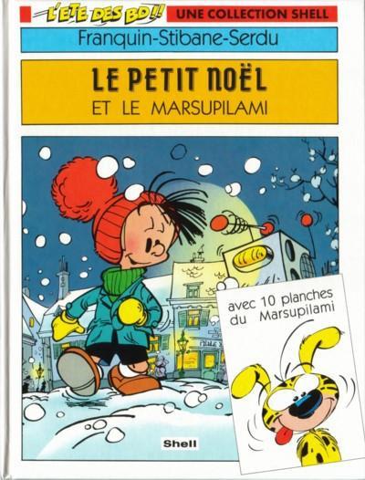 Couverture Le petit Noël et le Marsupilami