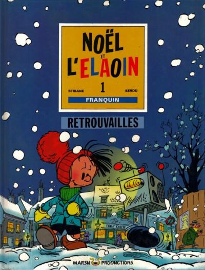 Couverture Petit Noël tome 3 - Retrouvailles (éd. 1990)