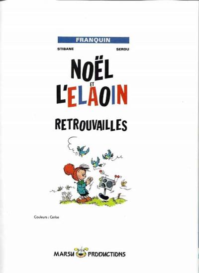 Page 1 Petit Noël tome 3 - Retrouvailles (éd. 1990)