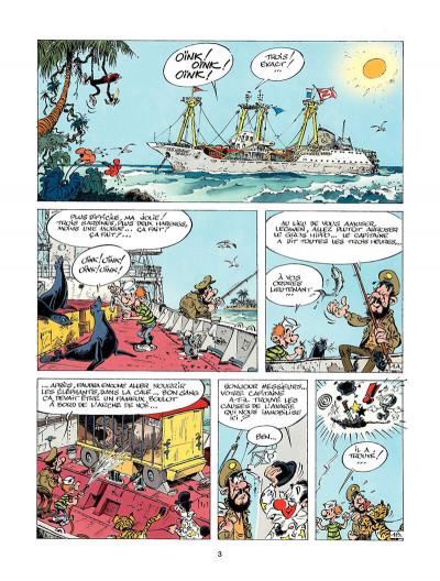 Page 2 marsupilami tome 3 - Mars le noir