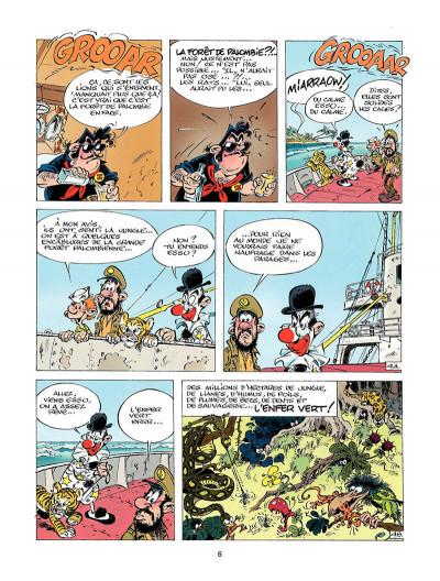 Page 5 marsupilami tome 3 - Mars le noir