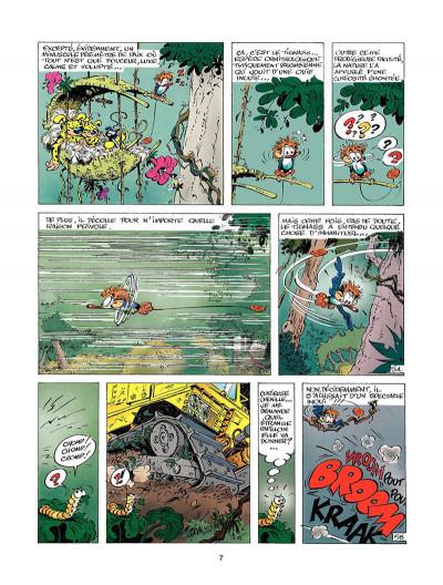 Page 6 marsupilami tome 3 - Mars le noir