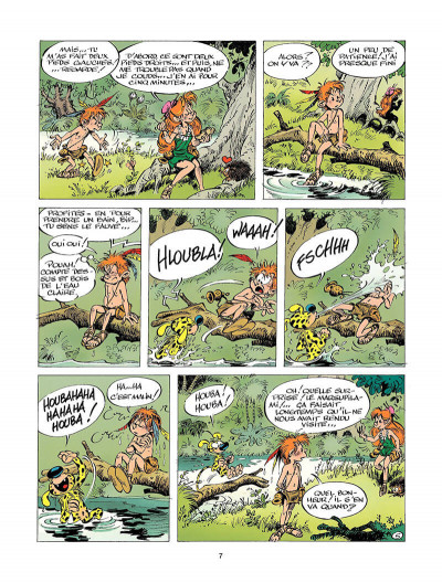 Page 6 marsupilami tome 5 - baby prinz