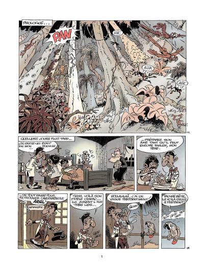 Page 2 marsupilami tome 10 - rififi en palombie