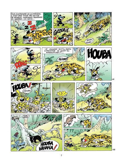 Page 6 marsupilami tome 10 - rififi en palombie