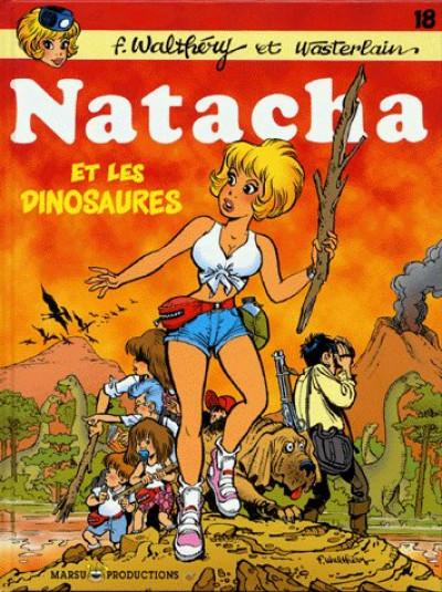 image de natacha tome 18 - natacha et les dinosaures
