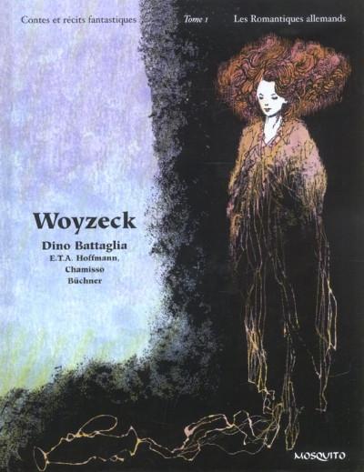 Couverture contes et récits fantastiques tome 1 - les romantiques allemands
