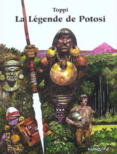 Couverture la légende de potosi