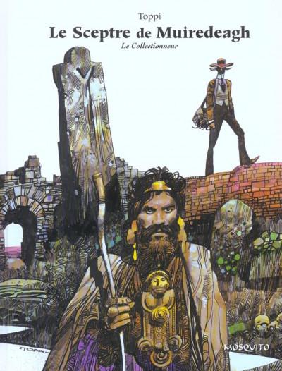 Couverture le collectionneur tome 2 - le sceptre de muiredeagh