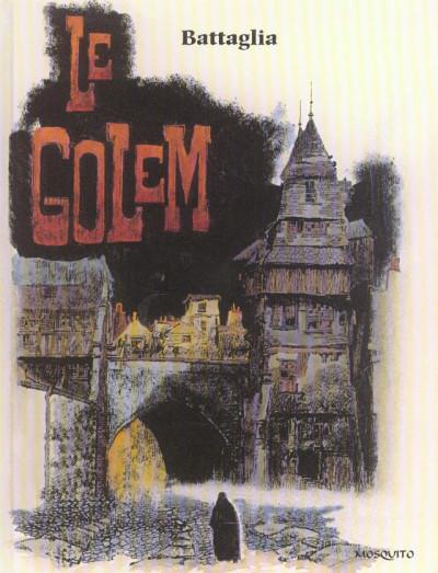 Couverture contes et récits fantastiques tome 2 - le golem