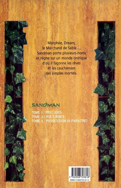 Dos Sandman tome 2 - nocturnes