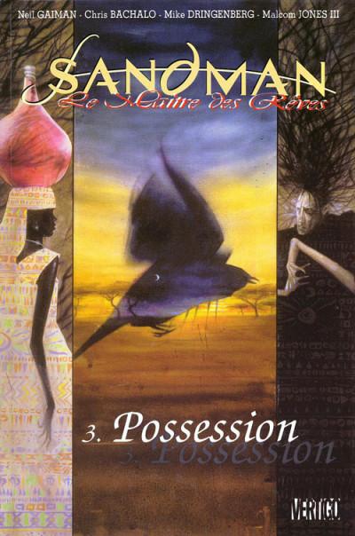 Couverture Sandman tome 3 - possession
