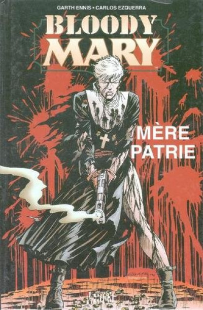 Couverture Bloody mary tome 1 - mère patrie
