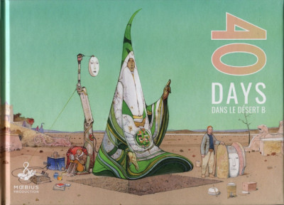 Couverture 40 days dans le désert B