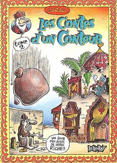Couverture les contes d'un conteur tome 2