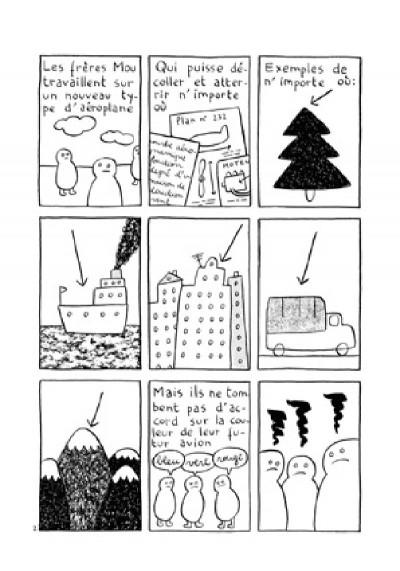 Page 2 lune, la bouche d'égout et la flaque d'eau