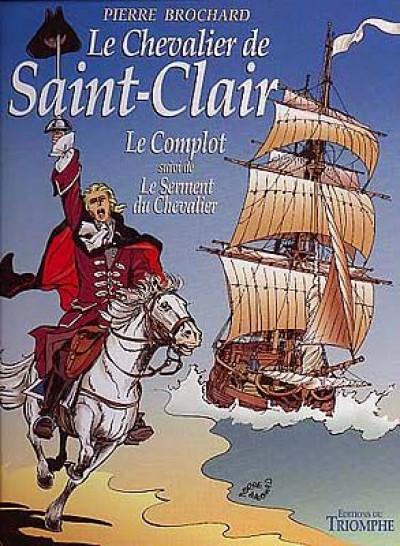 Couverture Le chevalier de Saint Clair tome 1 - le complot