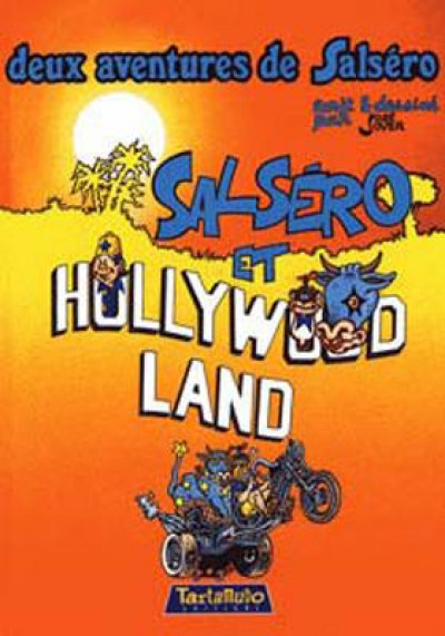 Couverture salséro et hollywood land