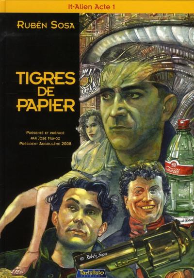 image de tigre de papier