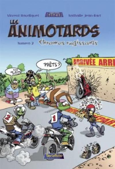 Couverture les animotards tome 2 - chromes rugissants