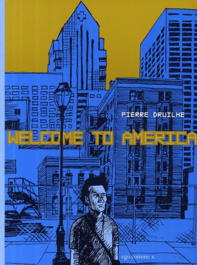 Couverture welcome to america
