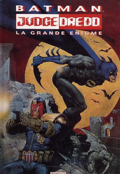 Couverture Batman - Judge Dredd tome 2 - la grande énigme