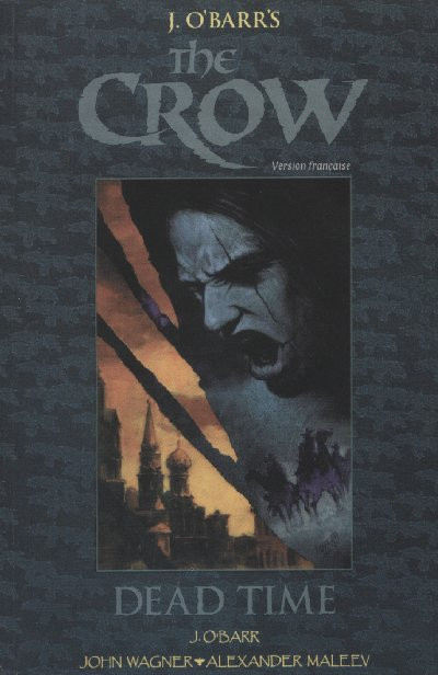 Couverture The crow tome 2 - dead time