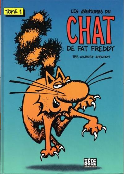 Couverture les aventures du chat de Fat Freddy tome 1