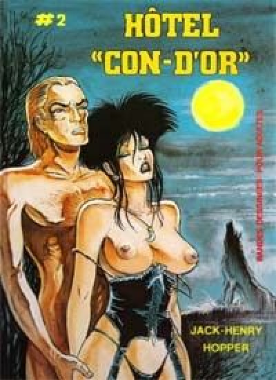 Couverture Hotel con-d'or tome 2
