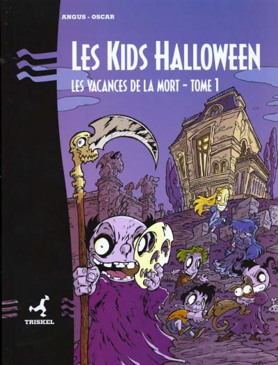 Couverture les kids halloween tome 1 - les vacances de la mort