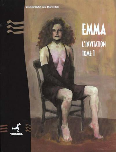 Couverture Emma tome 1 - l'invitation