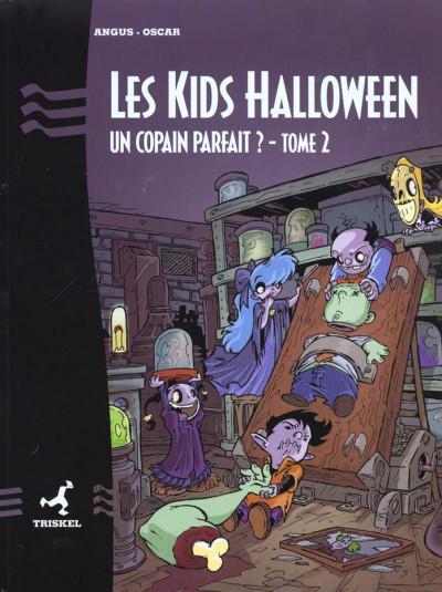 Couverture Les kids halloween tome 2 - un copain parfait