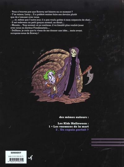 Dos Les kids halloween tome 2 - un copain parfait