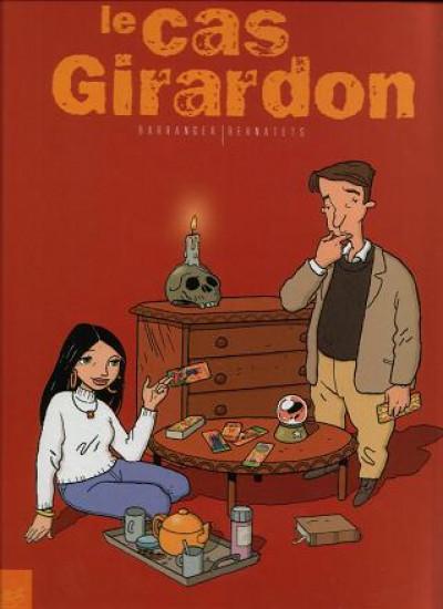 Couverture Le cas Girardon