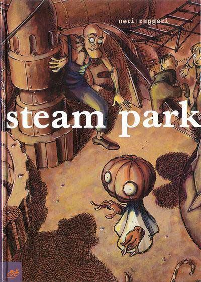 Couverture Steam Park