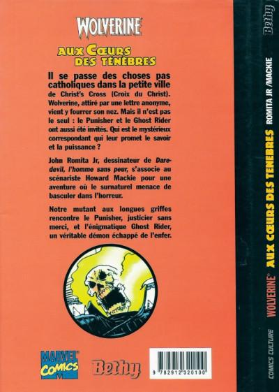 Dos Wolverine (Comics culture) tome 2 - Aux coeurs des ténèbres