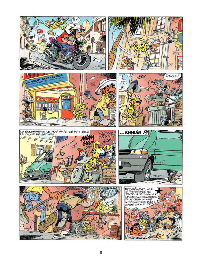 Page 4 marsupilami tome 12 - Trafic à Jollywood